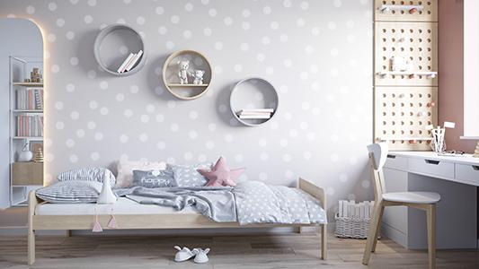 Łóżko dziecięce w aranżacji wnętrza