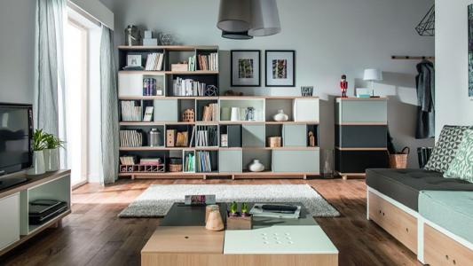 Meble modułowe do nowoczesnego mieszkania