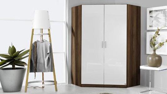Pojemna szafa narożna do przedpokoju, sypialni, salonu