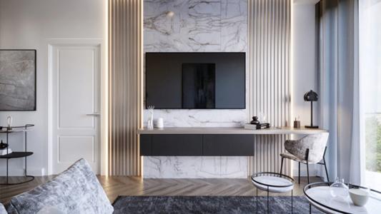 Salon ze ścianą telewizyjną - jakie meble wybrać?