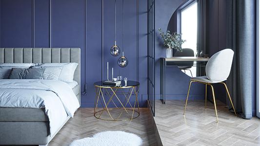 Sypialnia w wielkim stylu - powiew luksusu i przytulności
