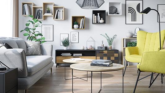 3 rodzaje mebli, które sprawią, że salon będzie przytulniejszy