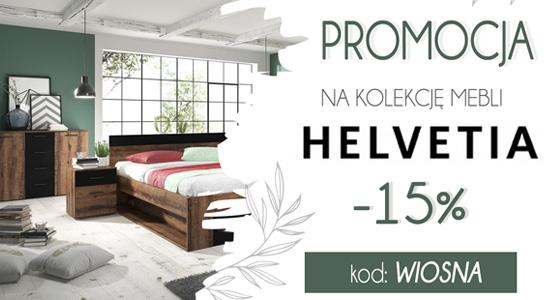 Wiosenna promocja - meble HELVETIA -15%