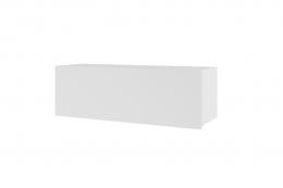 Półka wisząca CALABRIA CL1 biały / biały połysk