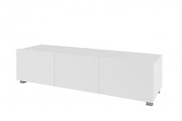 Komoda RTV 150 CALABRIA CL4 biały / biały połysk