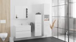 Łazienka LUPO biały połysk